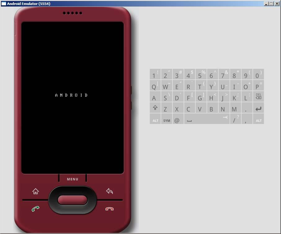 【Android】 Android SDKのエミュレータを使ってみる