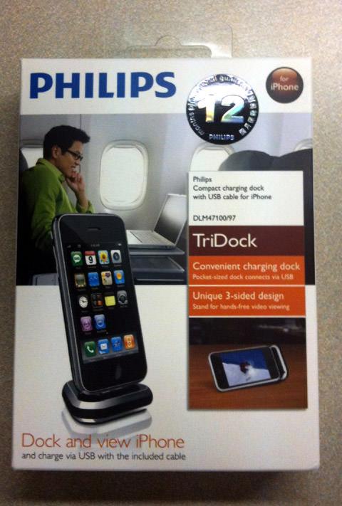 【iPhone】Philipsの超小型ドック、TriDock買ってみた