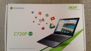 Acer C720P Chromebook 開封の儀