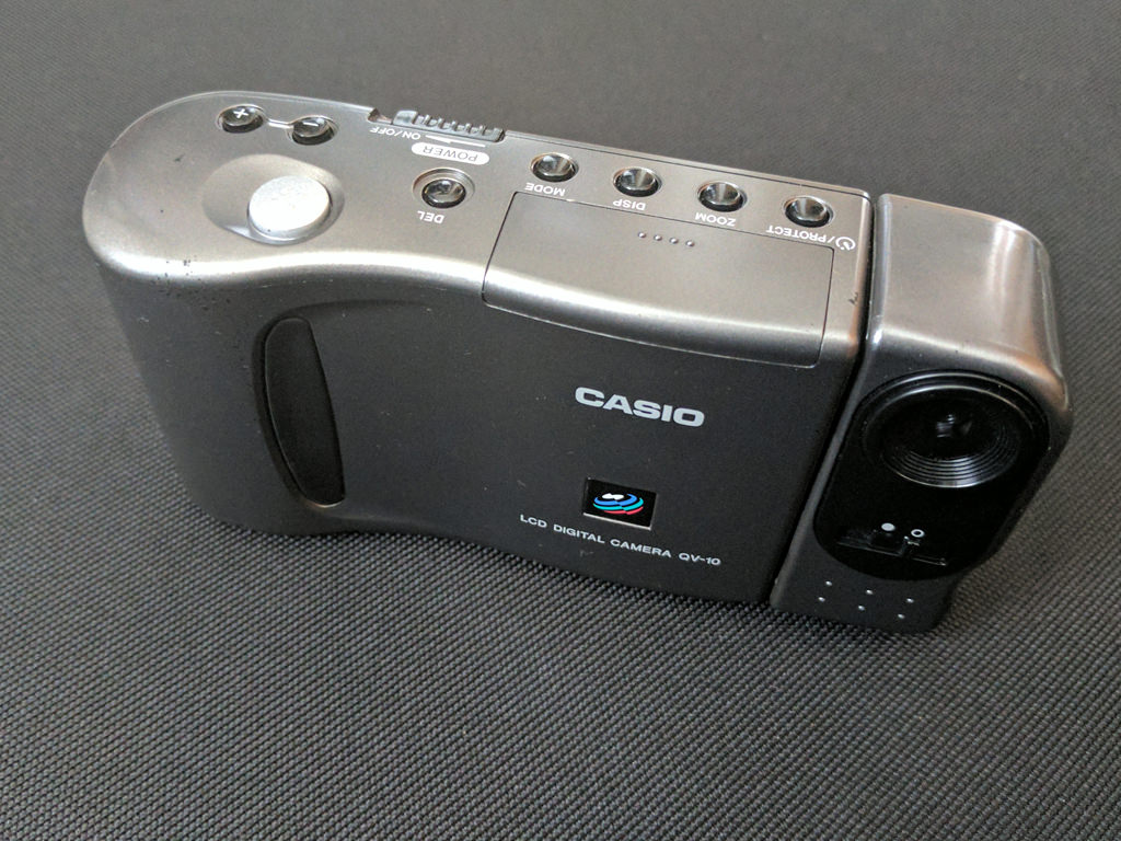 【骨董移動端末館】第4回 元祖デジカメCasio QV-10で写真を撮ってみた
