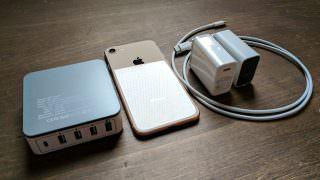 【レビュー】iPhone 8の急速充電を非純正アダプタで検証