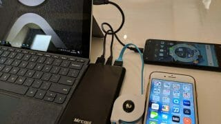 【レビュー】Surface Goを急速充電可能ー高出力モバイルバッテリー【名前が残念】